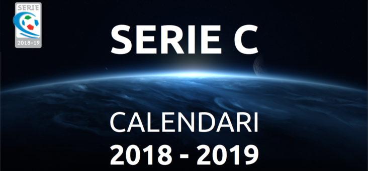 Calendario Lega Pro Girone C.Calendari Campionato Serie C Stagione Sportiva 2018 19