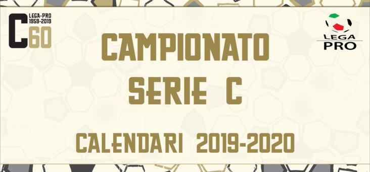 Calendario Lega Pro Girone C.Calendari Campionato Serie C Stagione Sportiva 2019 20